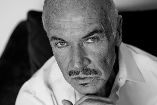 black and white photography Sean Connery lookalike professional portraits Toronto 4669