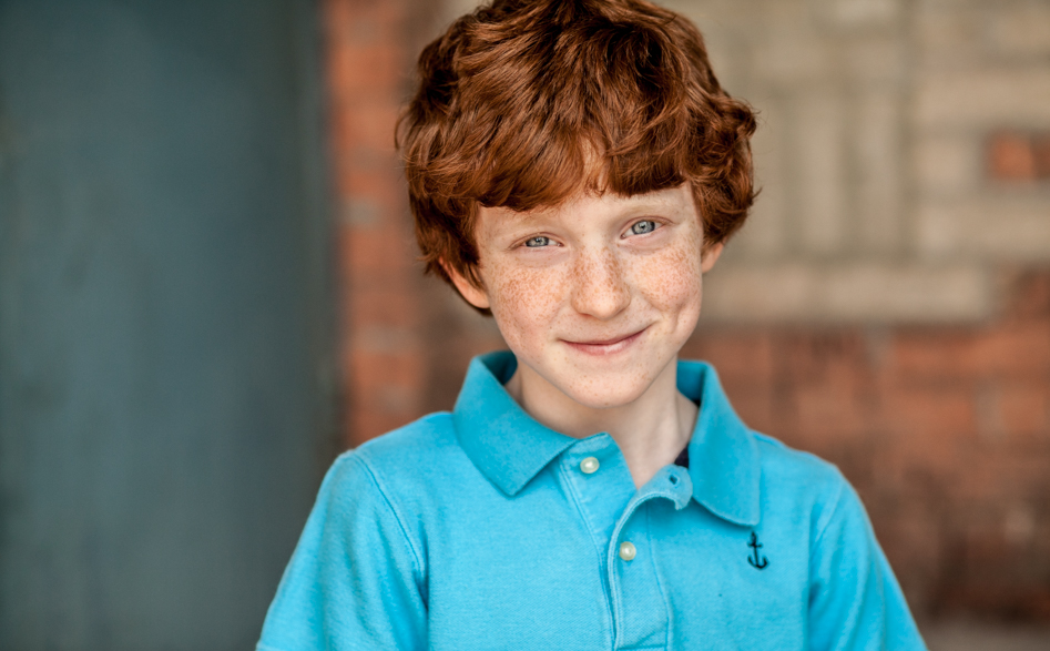 red haired boy for children's headshots Toronto 3047-2
