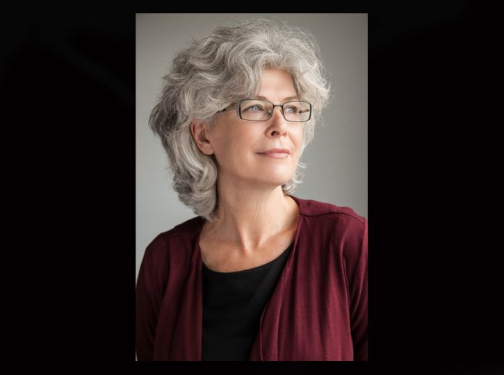 grey haired female LinkedIn headshots Toronto 0561