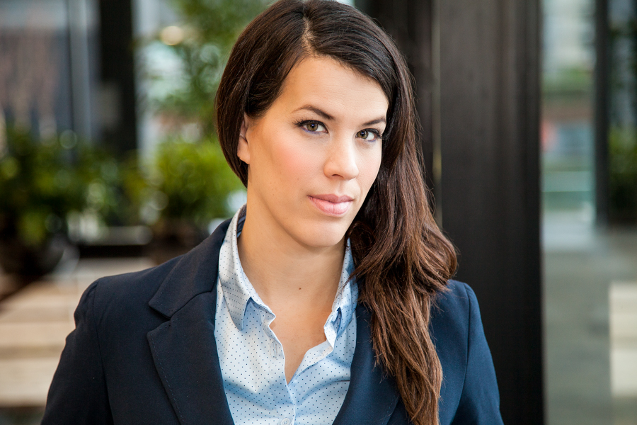 female in business suit for professional headshots Toronto 6145-3