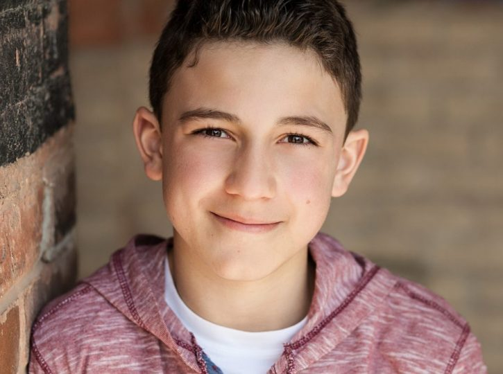 Boy's actor for Children's headshots Toronto
