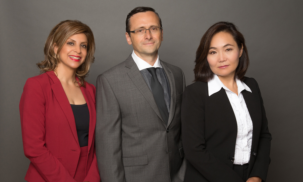 3 realtors in group shot for corporate photography toronto 0553