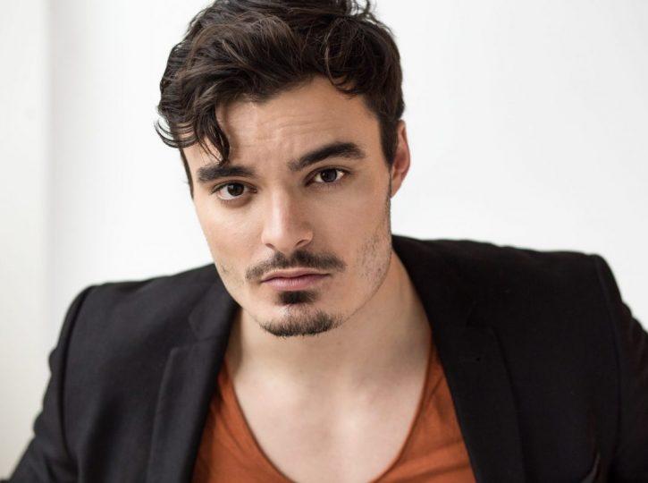 male actor in studio for Toronto actor headshots 5607