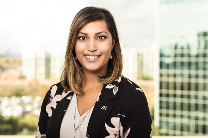 McDonald's HR executive team member for headshots Toronto 1649