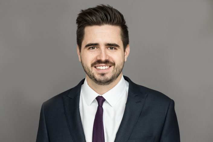 Matthew Pike in business suit for headshots Toronto 8478