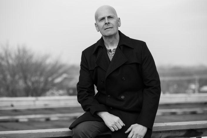 outdoors, Mark in winter coat, actor headshots Toronto 7493