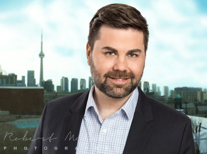 Michael CN Tower background corporate headshots