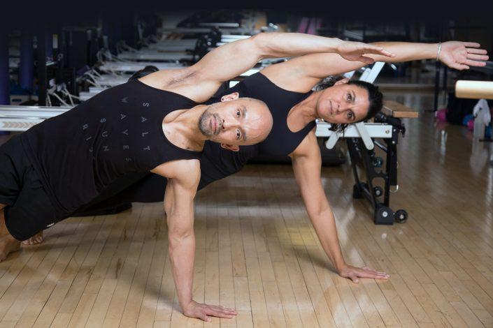 Toronto Athletic Club Pilates branding photography