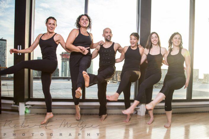 Toronto Athletic Club Pilates group shot branding photography 6279