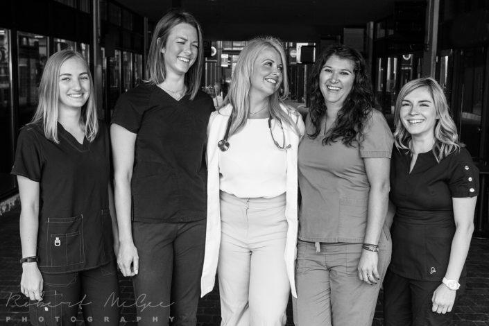 team from vet clinic for professional branding Toronto 0O7C8977