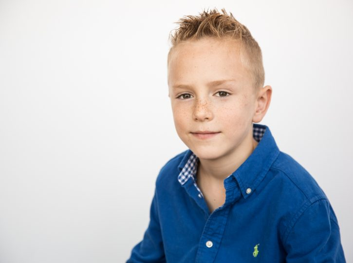 boy in blue shirt kids actor headshots Toronto 0O7C2323