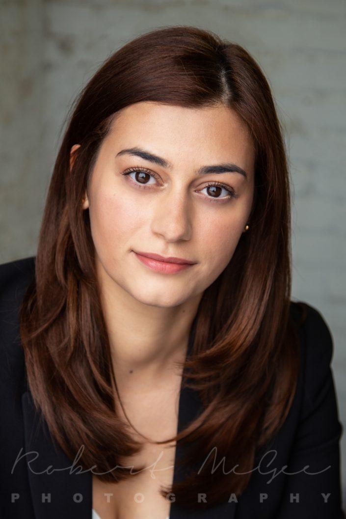 Leeana with long dark hair professional headshots Toronto 0O7C2827