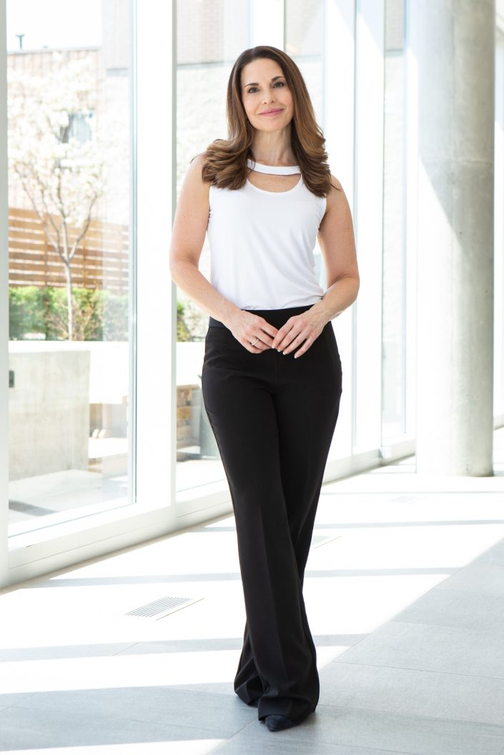 full length image of Kathryn in business attire for business photography Toronto 0O7C5636
