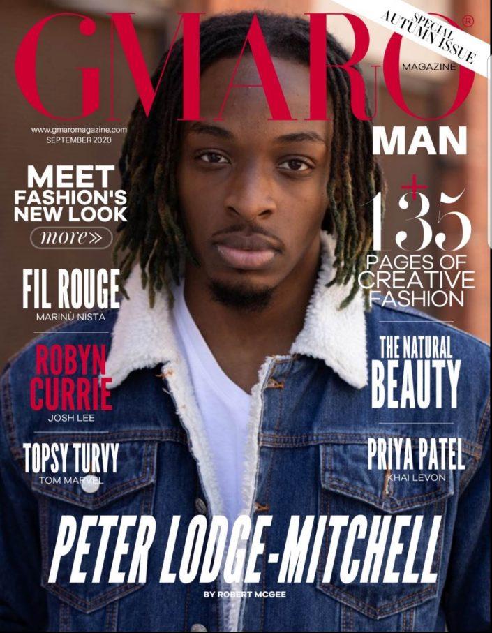 Peter Lodge-Mitchell on cover of Gmaro magazine actor headshots 144211